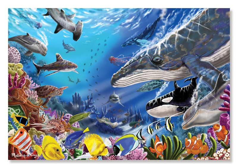Living Ocean - Scratch and Dent Under The Sea Jigsaw Puzzle