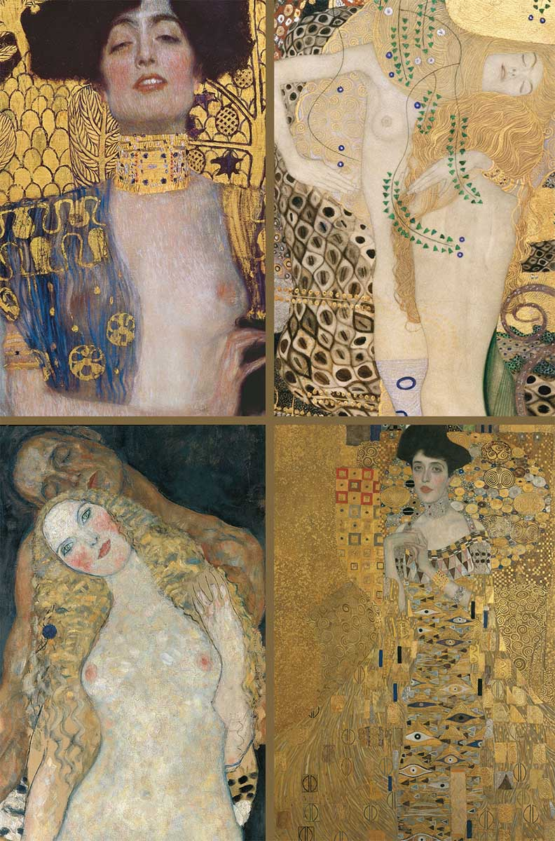 Klimt Collection Contemporary & Modern Art Jigsaw Puzzle