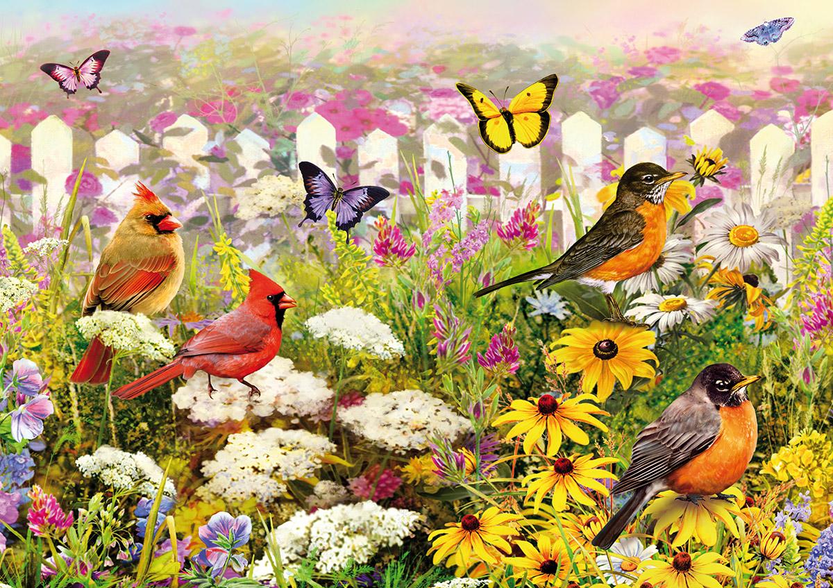 Joyful Place Birds Jigsaw Puzzle
