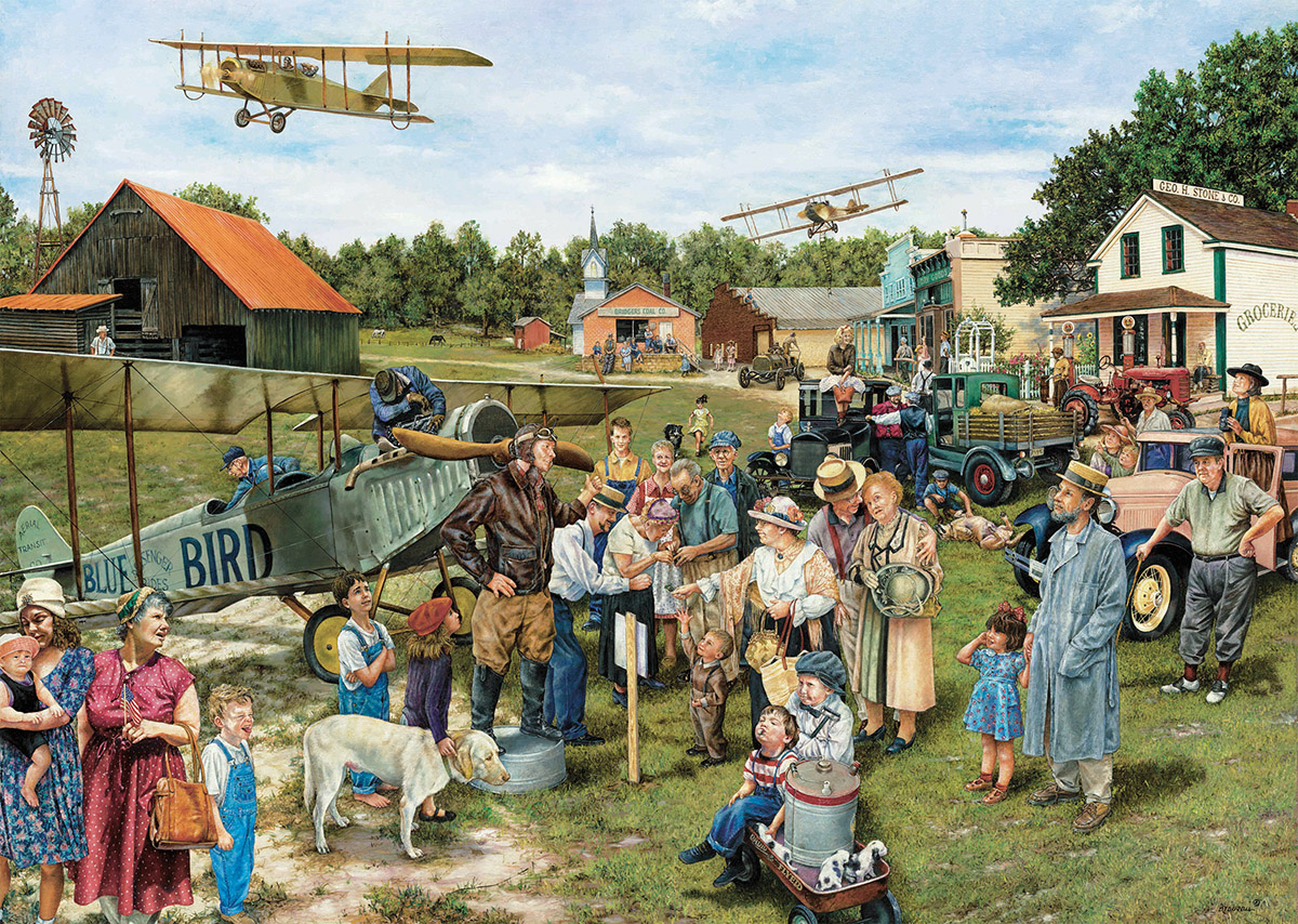 Barnstormer - Scratch and Dent Planes Jigsaw Puzzle