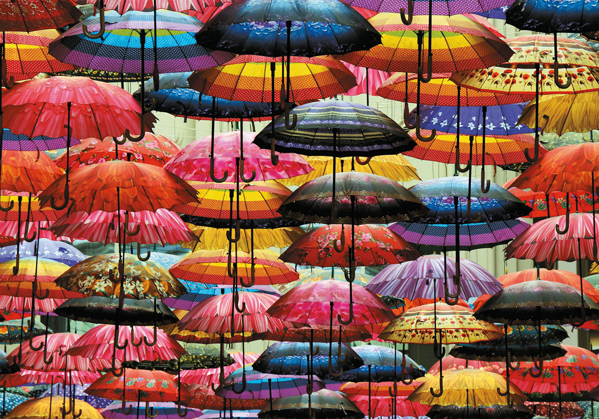 Umbrellas Food and Drink Jigsaw Puzzle