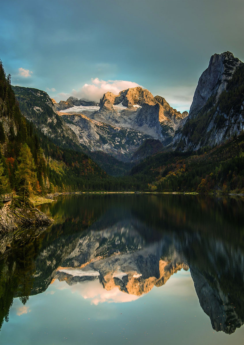 Dachstein Mountains Jigsaw Puzzle