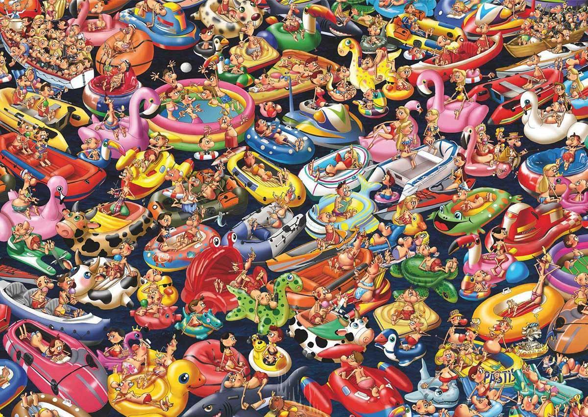 Ruyer Floating around Summer Jigsaw Puzzle