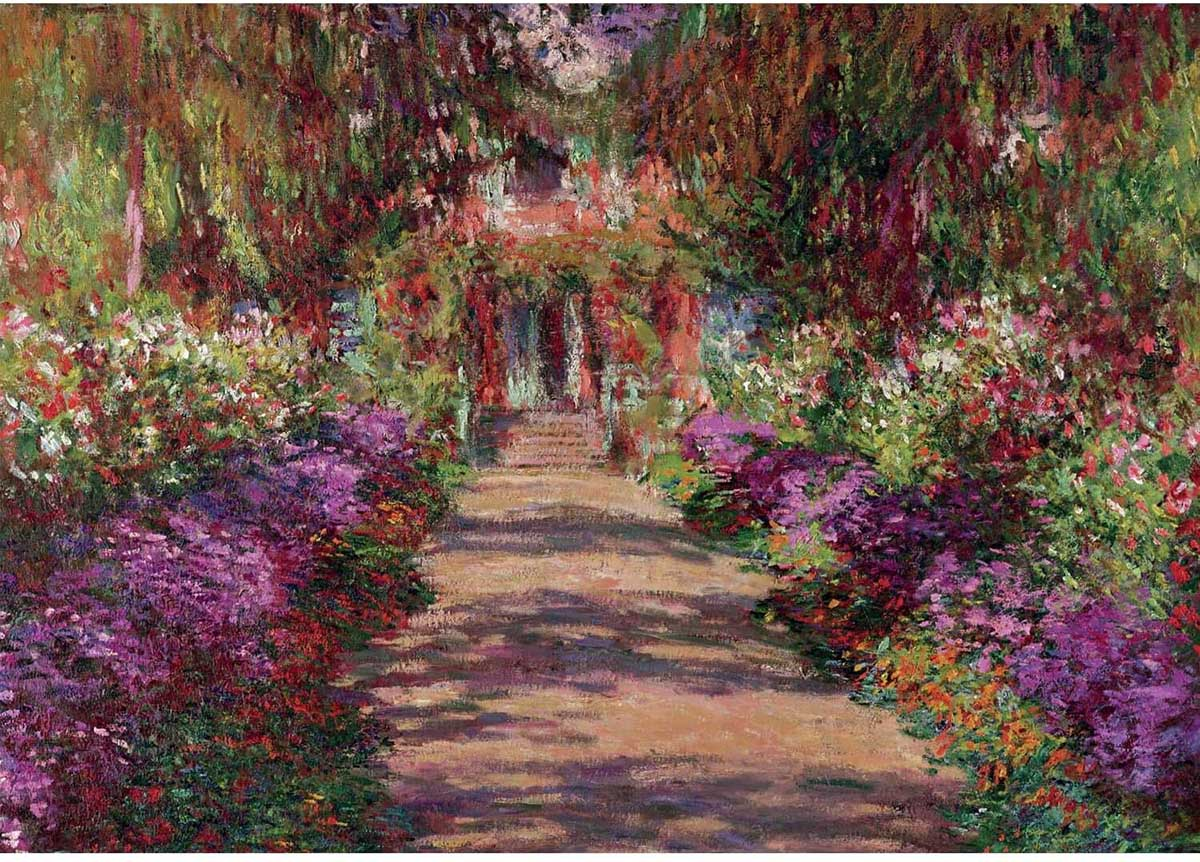 Monet  - Giverny Fine Art Jigsaw Puzzle