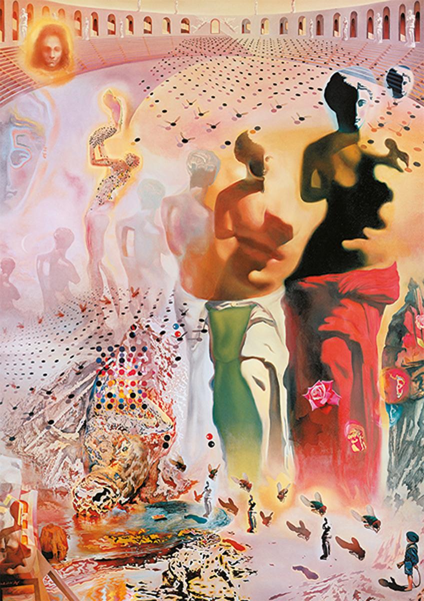 Dali,The Hallucinogenic Toreador Fine Art Jigsaw Puzzle