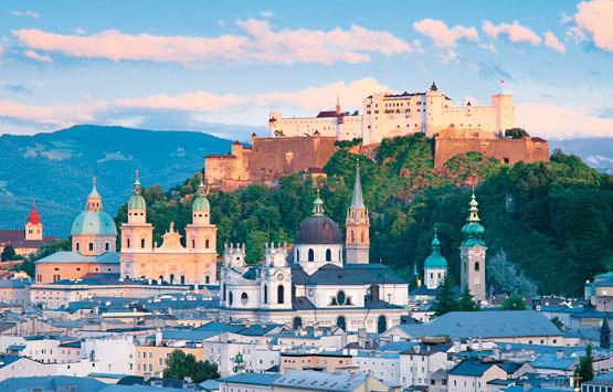 Salzburg Castles Jigsaw Puzzle