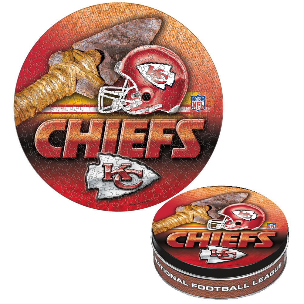 Official NFL Kansas City Chiefs - Tin Sports Jigsaw Puzzle