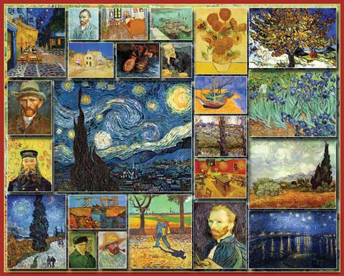 Great Painters - Vincent Van Gogh - Scratch and Dent Impressionism Jigsaw Puzzle