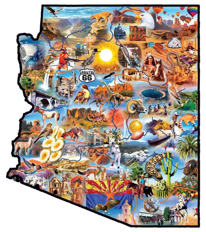 Arizona Travel Jigsaw Puzzle