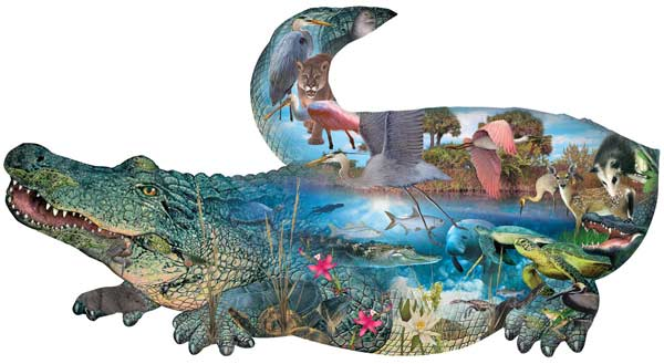 Prehistoric Reptiles and Amphibians Jigsaw Puzzle