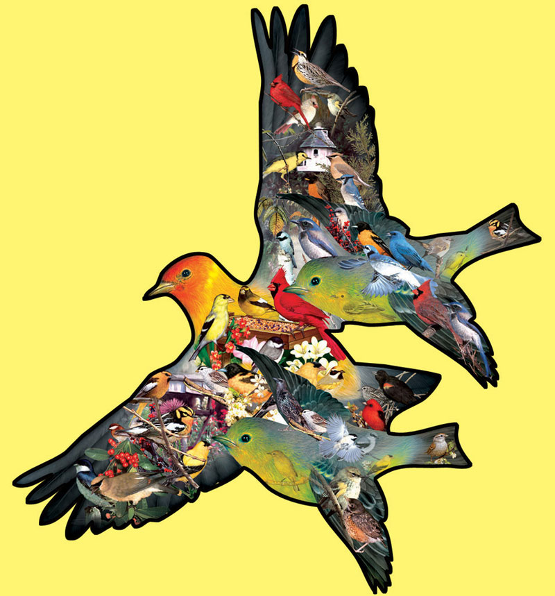Tanager Birds Jigsaw Puzzle