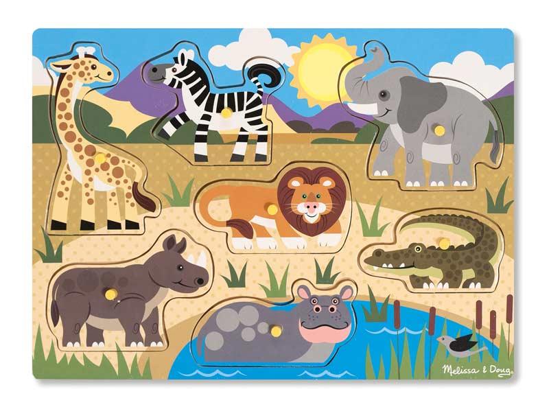 Safari Animals Children's Puzzles