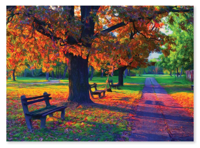 Walk in the Park - Scratch and Dent Fall Jigsaw Puzzle