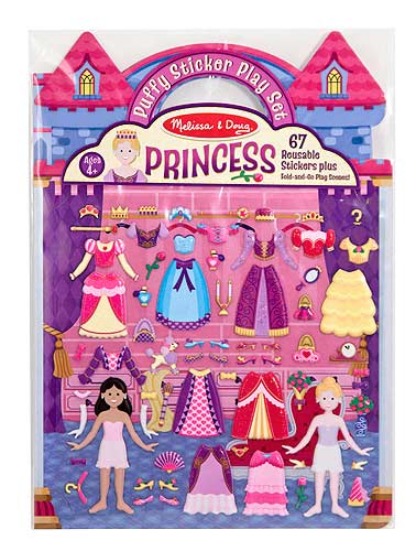 Puffy Sticker Play Set - Princess Princess Activity Books and Stickers