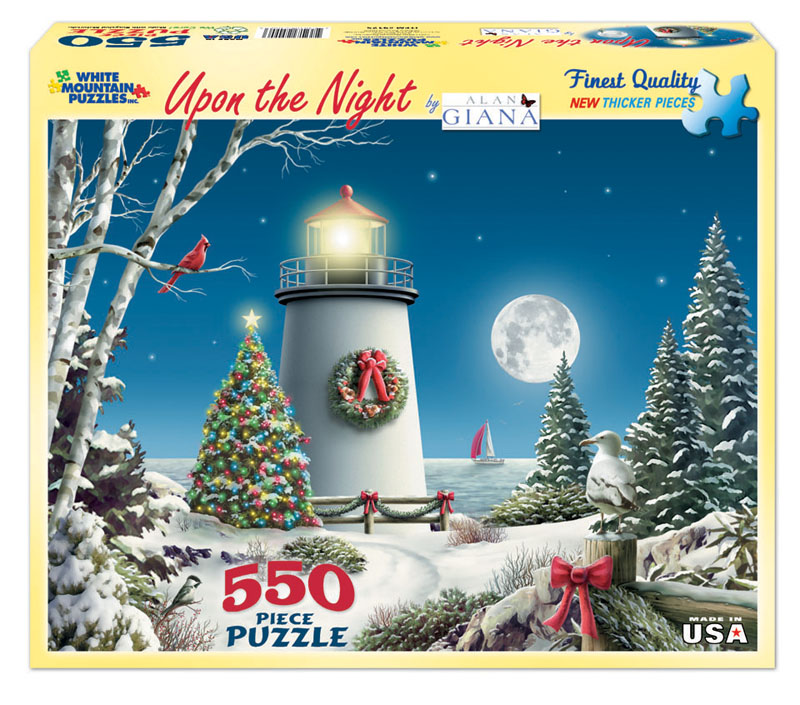 Upon The Night Christmas Jigsaw Puzzle