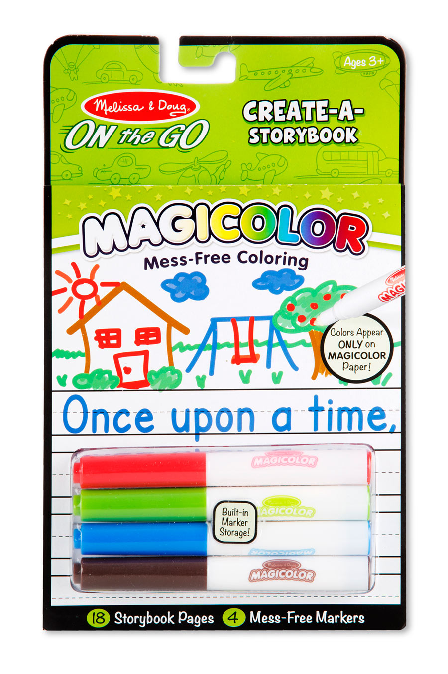 Magicolor Color-Your-Own Storybook - Scratch and Dent