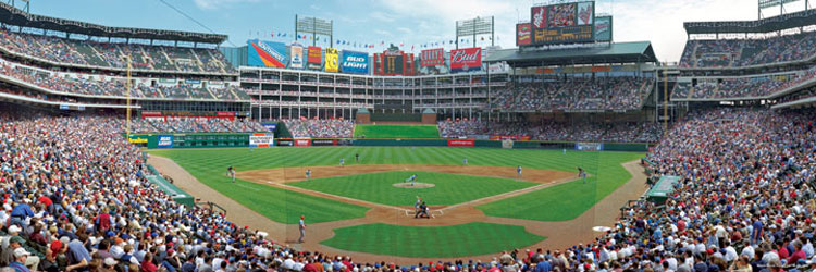 Texas Rangers Sports Jigsaw Puzzle