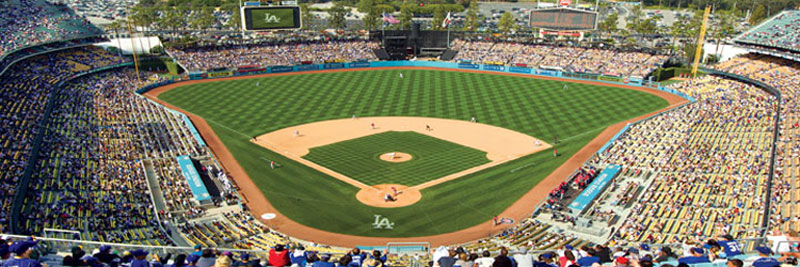 Los Angeles Dodgers Sports Jigsaw Puzzle