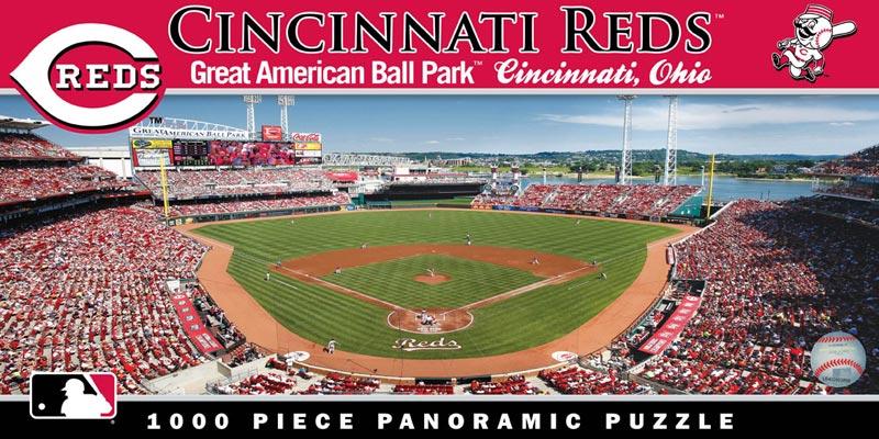 Cincinnati Reds Sports Jigsaw Puzzle
