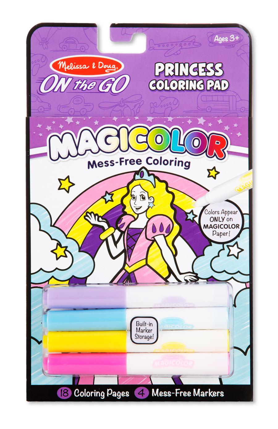 Magicolor Coloring Pad - Princess