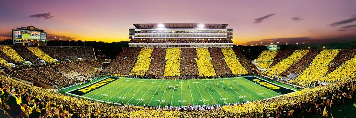 University of Iowa Sports Jigsaw Puzzle
