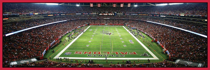 Atlanta Falcons Sports Jigsaw Puzzle