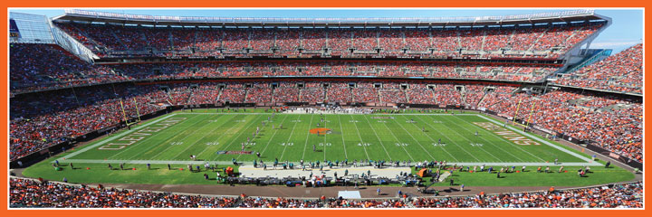Cleveland Browns Sports Jigsaw Puzzle