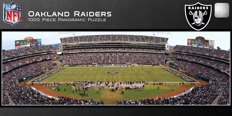 Oakland Raiders Jigsaw Puzzle Puzzlewarehouse Com