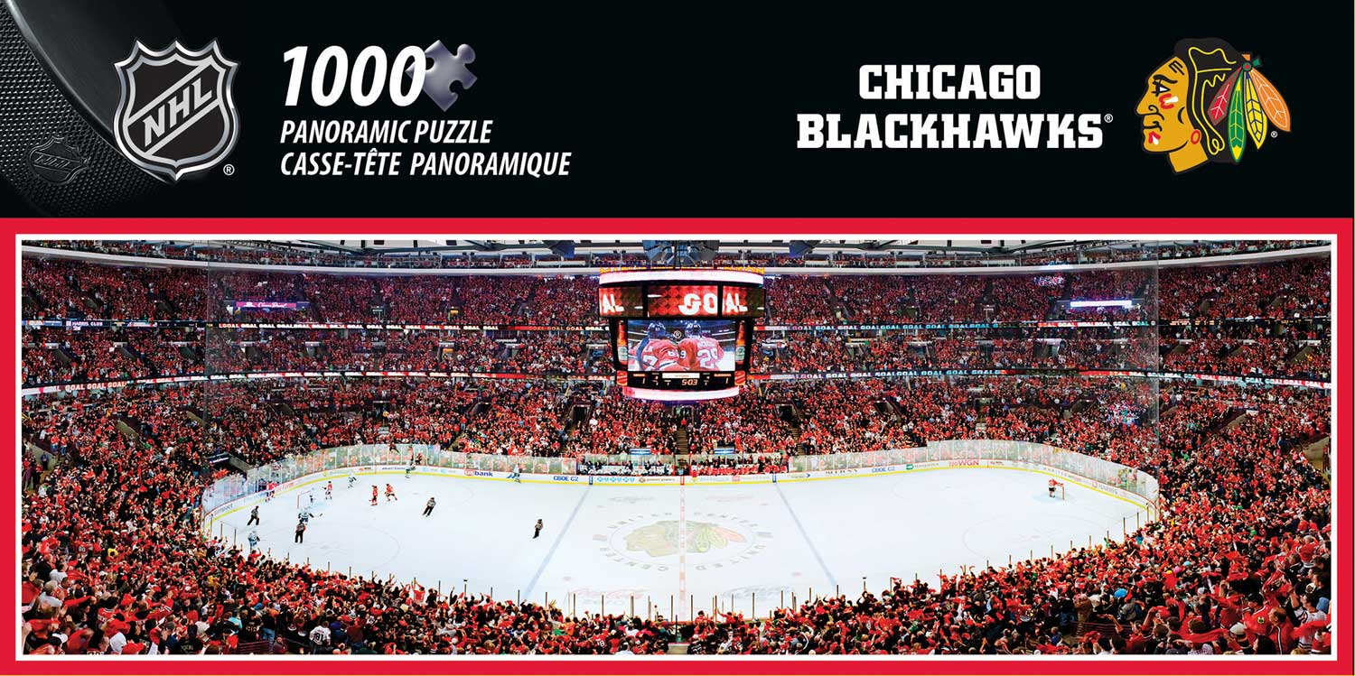 Chicago Blackhawks Sports Jigsaw Puzzle