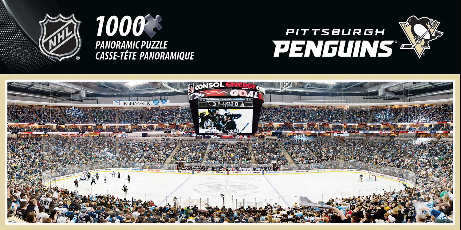 Pittsburgh Penguins - Scratch and Dent Sports Jigsaw Puzzle