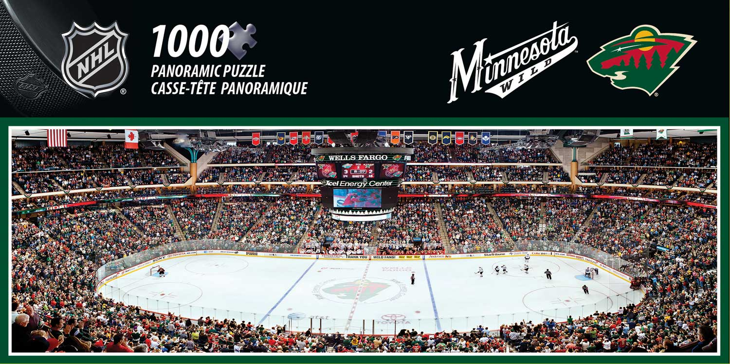 Minnesota Wild Sports Jigsaw Puzzle