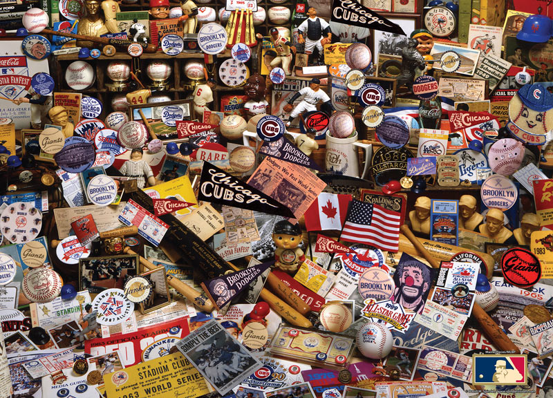 Mlb Fan Collectibles Jigsaw Puzzle Puzzlewarehouse Com