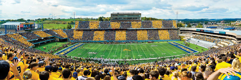 West Virginia Sports Jigsaw Puzzle
