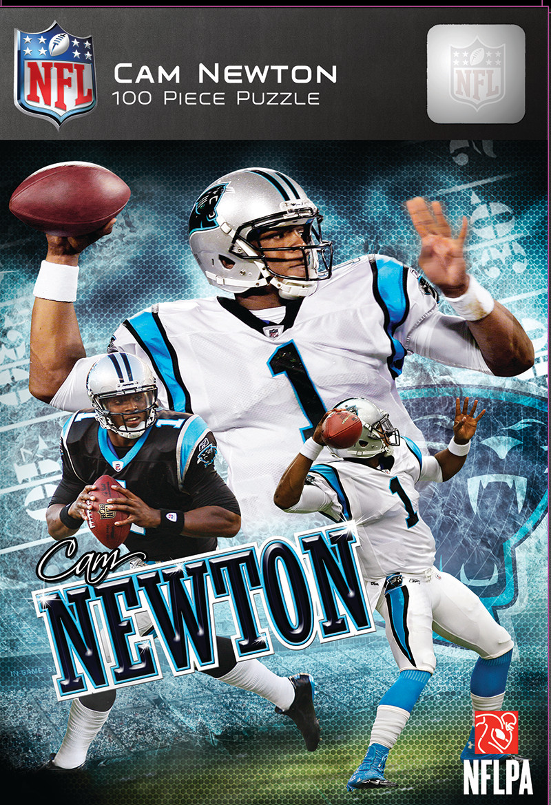 Cam Newton Sports Jigsaw Puzzle