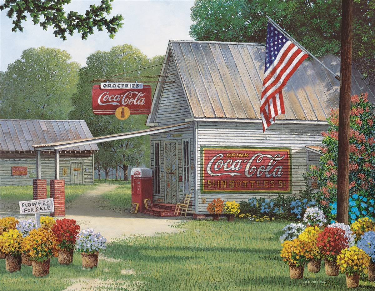 Coca-Cola Country General Store Coca Cola Jigsaw Puzzle