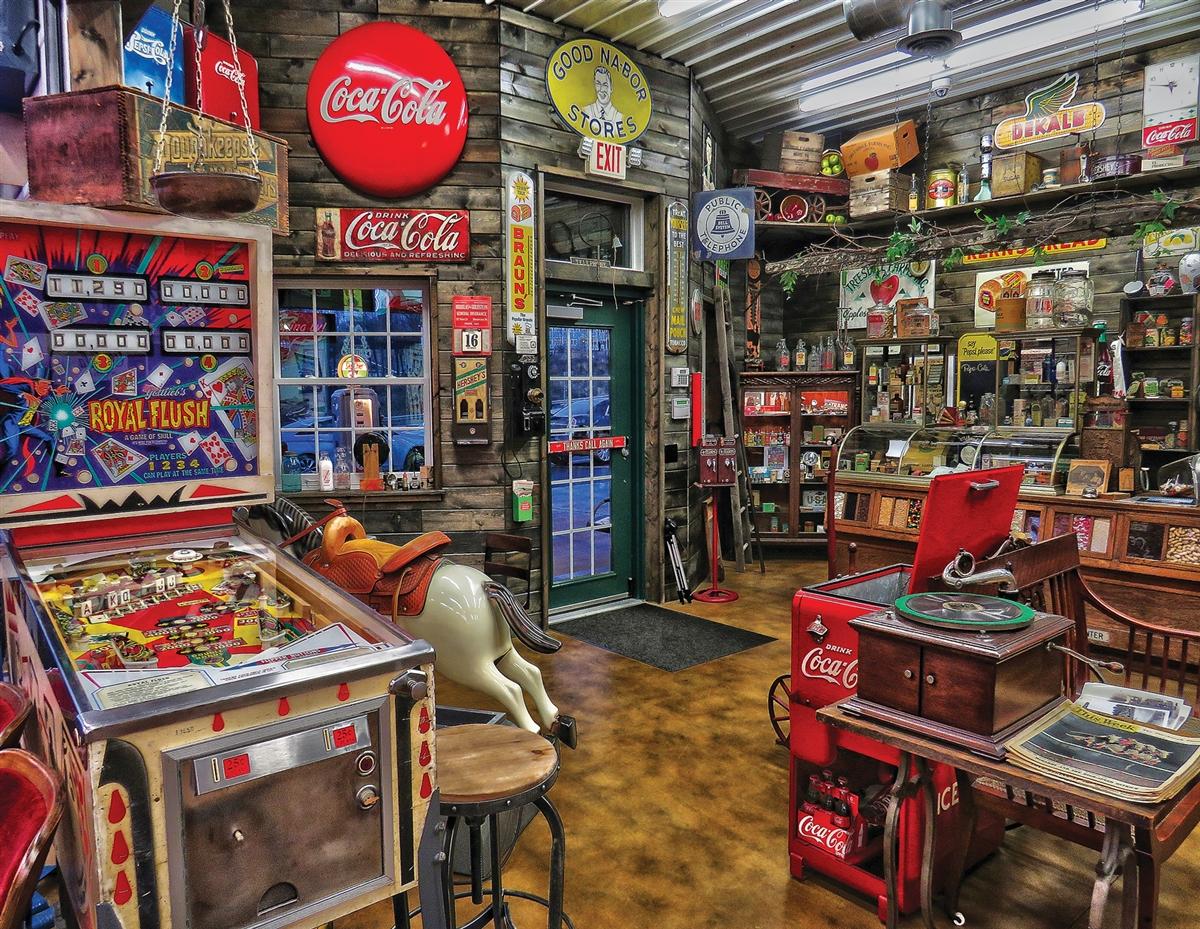Good Nabor Stores - Scratch and Dent Nostalgic / Retro Jigsaw Puzzle