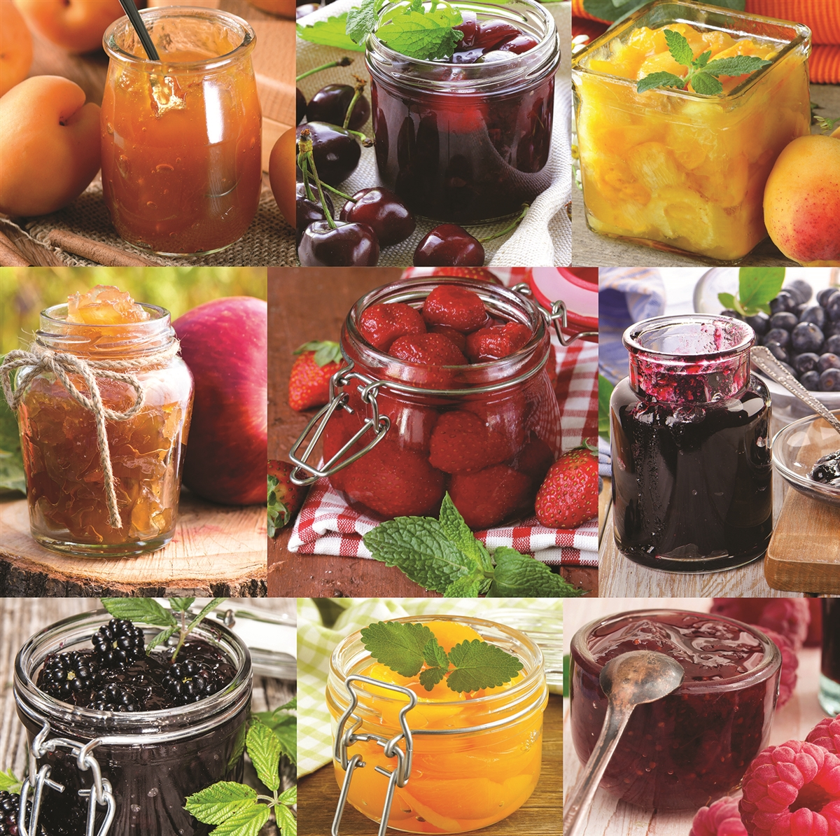 Jellies & Jams Food and Drink Jigsaw Puzzle