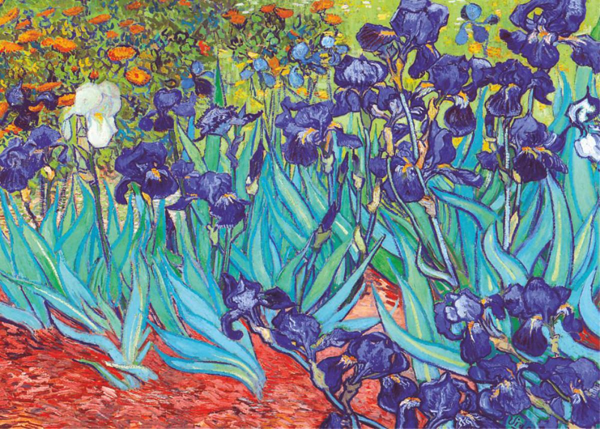 Irises Fine Art Jigsaw Puzzle