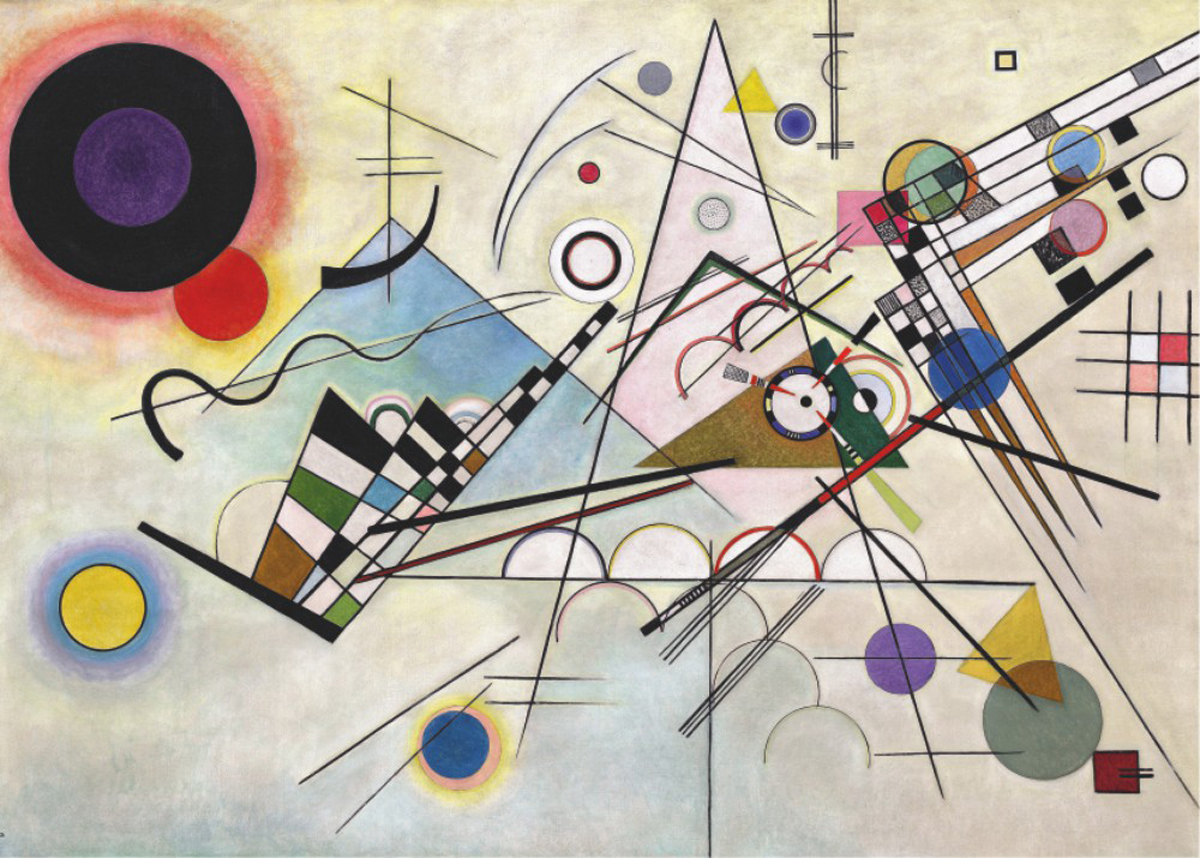 Composition 8 Abstract Jigsaw Puzzle