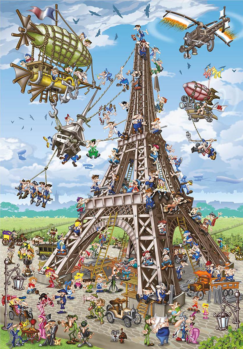 Eiffel Tower Eiffel Tower Jigsaw Puzzle