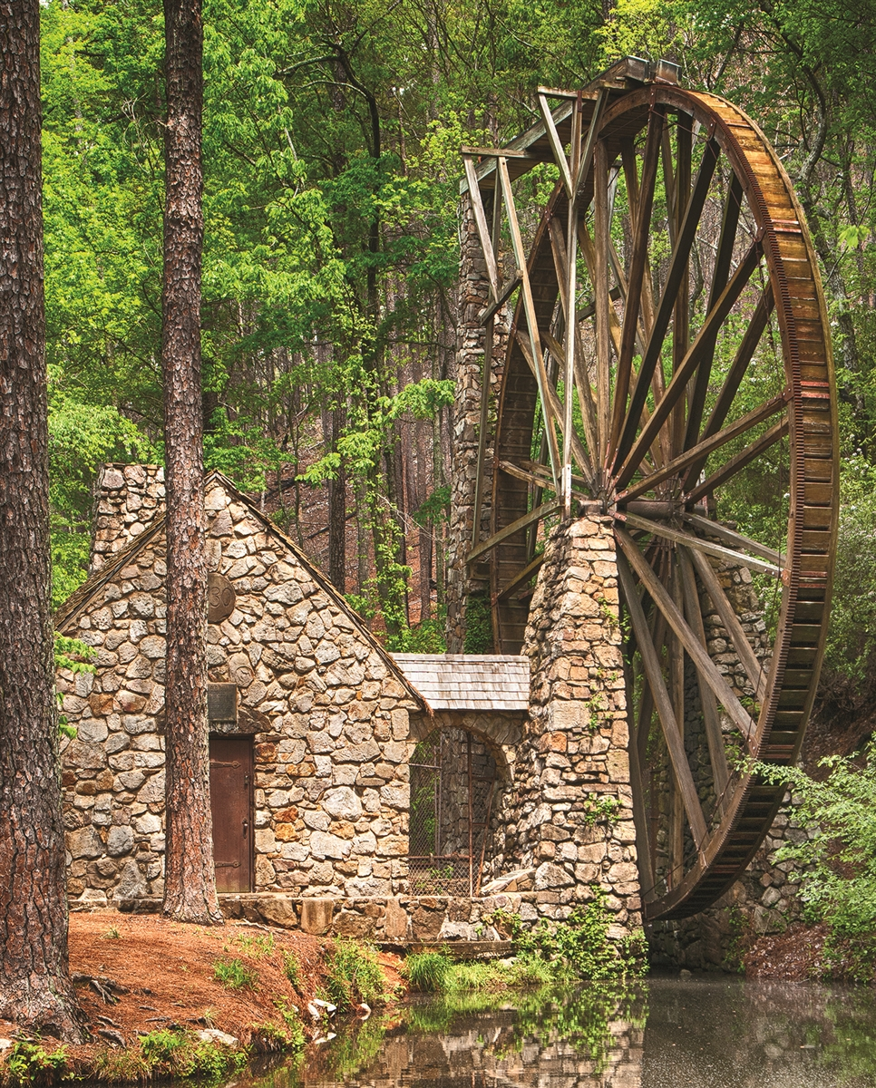 Water Wheel - Scratch and Dent Countryside Jigsaw Puzzle