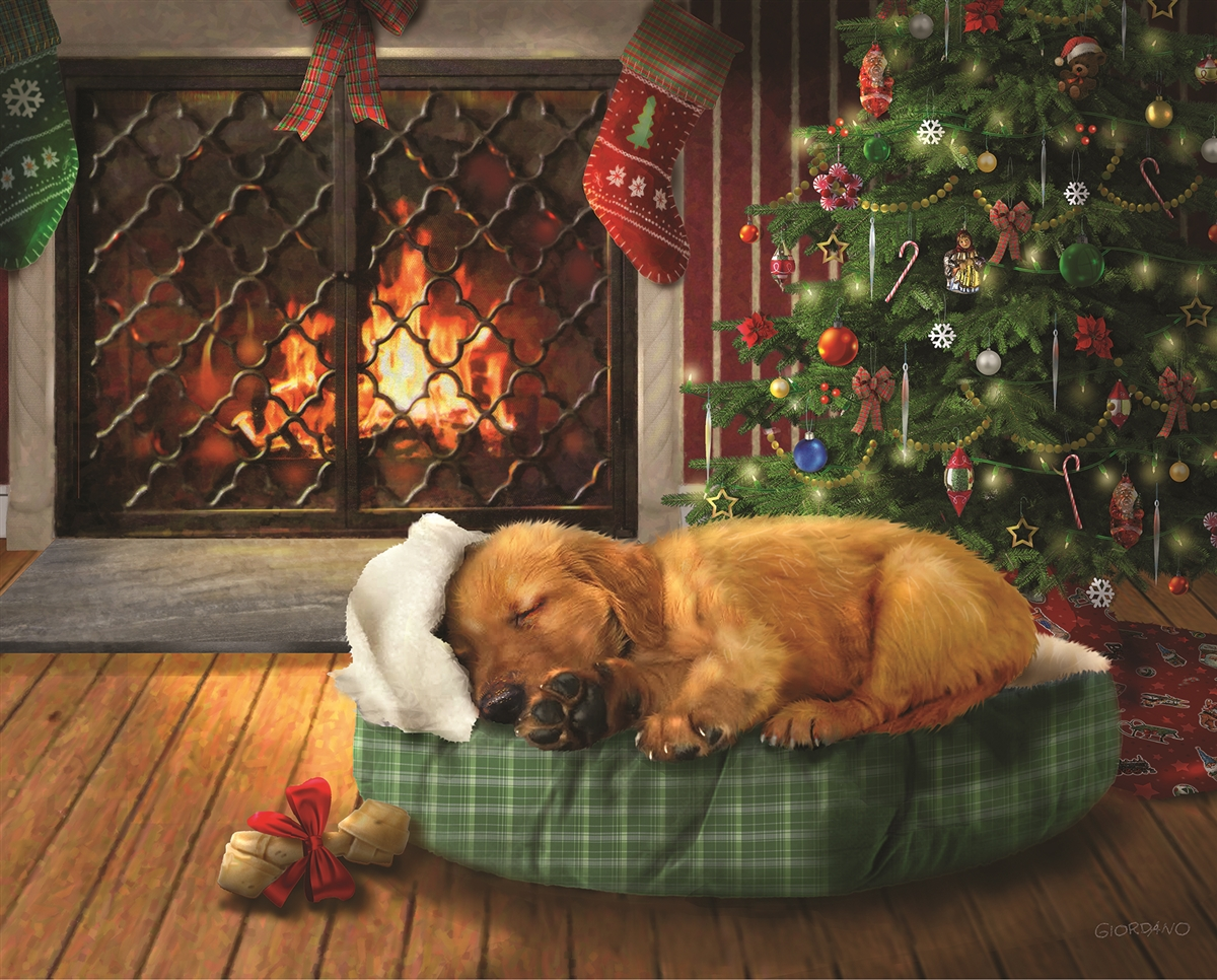 Christmas Wishes Dogs Jigsaw Puzzle