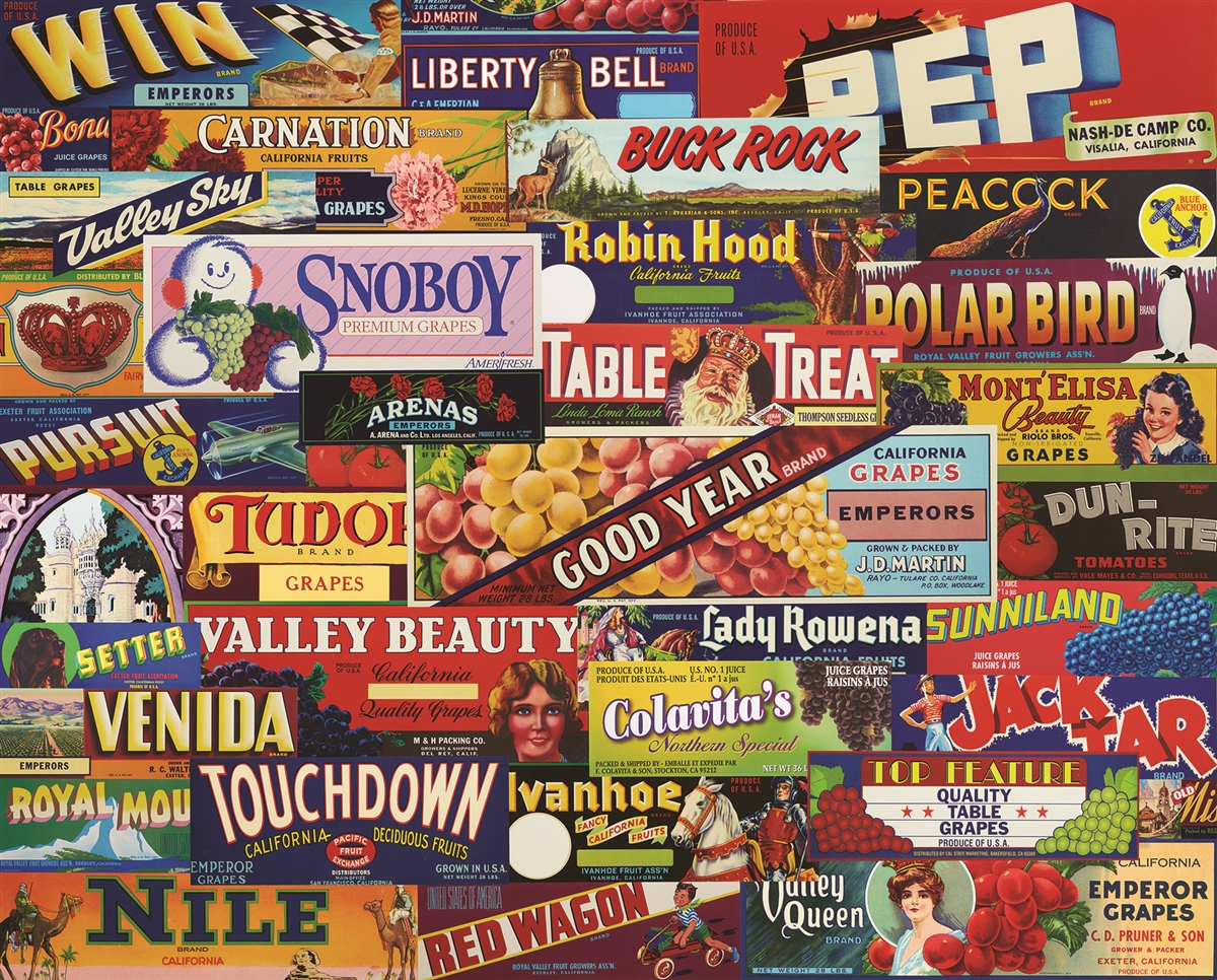Table Treats Nostalgic / Retro Jigsaw Puzzle