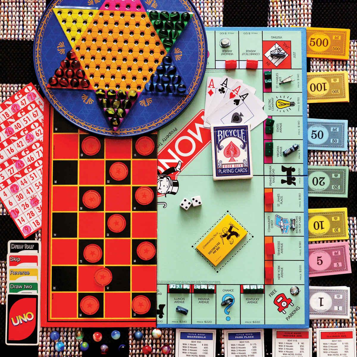 Board Games Dementia / Alzheimer's Jigsaw Puzzle