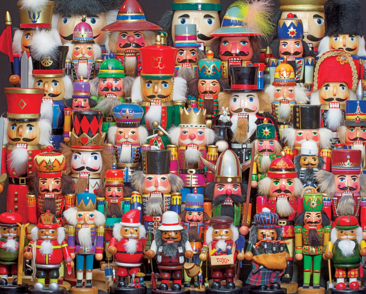 Nutcracker Collection Christmas Jigsaw Puzzle