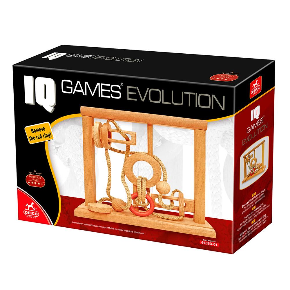 Evolution 3D Puzzle - IQ Game 1 Jigsaw Puzzle