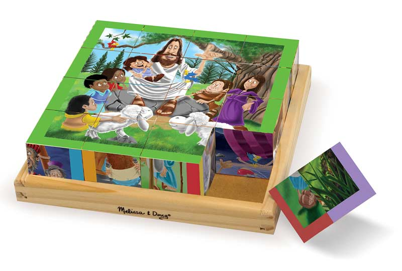 New Testament Cube Puzzle - Scratch and Dent Religious Jigsaw Puzzle