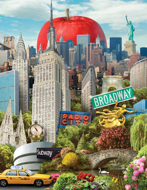The Big Apple (NYC) Cities Jigsaw Puzzle