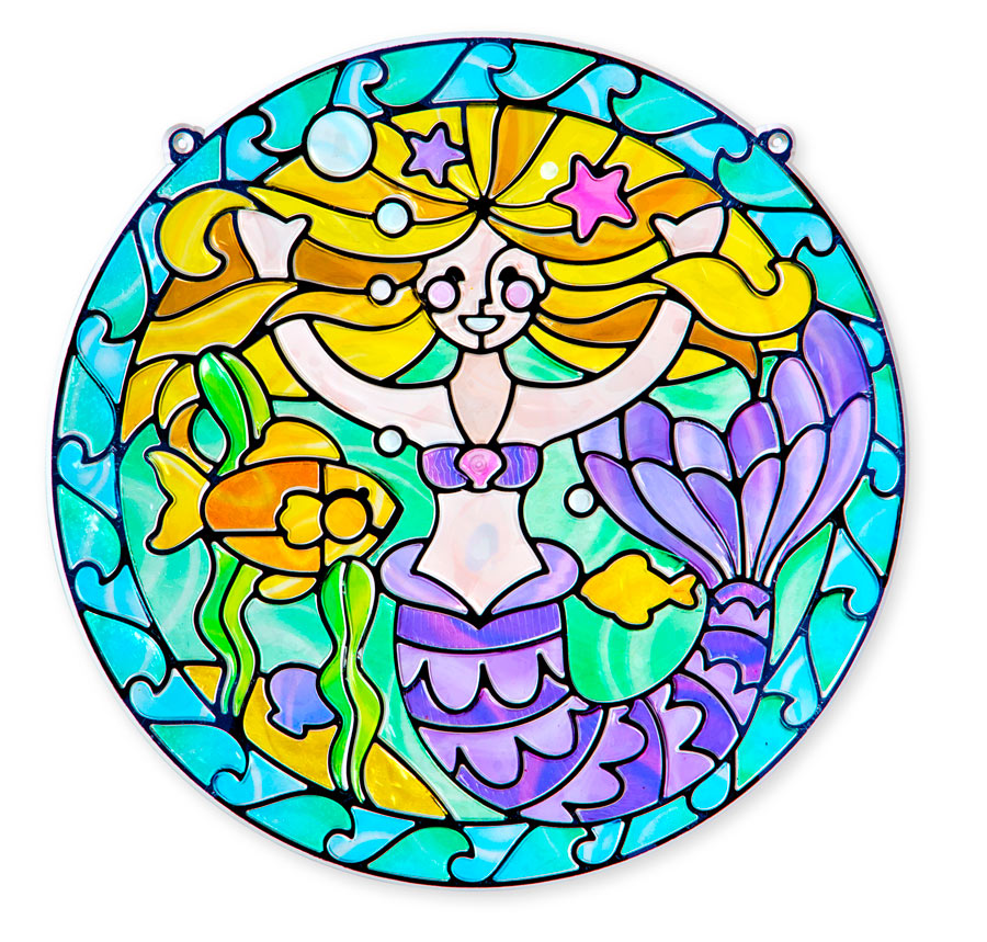Mermaid (Stained Glass) Mermaids