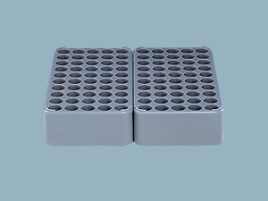 Empty Tray for Type D and J tips, Light Gray